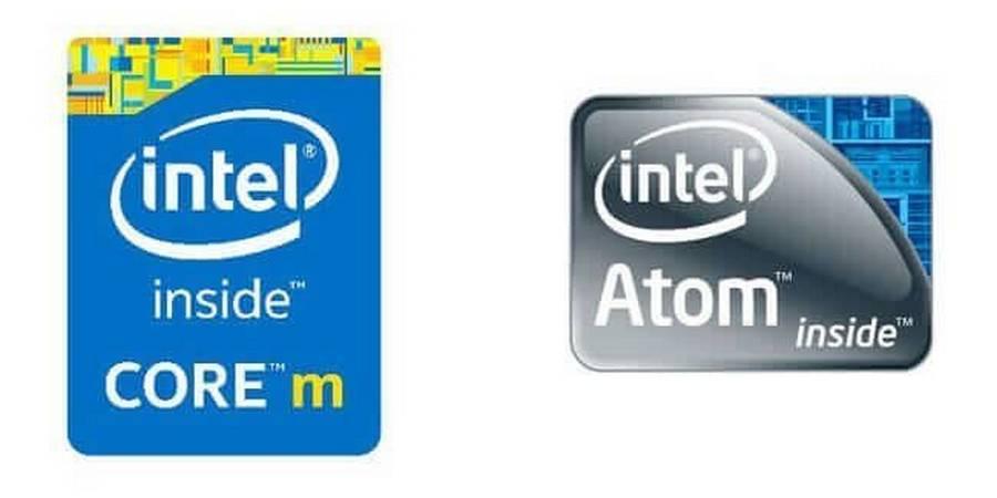 Prosesor Intel Atom and Core M