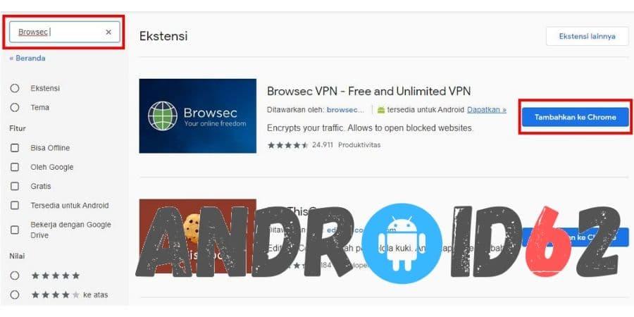 Cara Membuka Situs Yang Diblokir Internet Positif di Google Chrome Dengan Browsec VPN