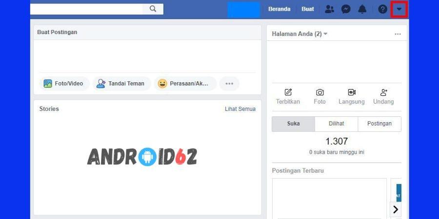 Cara Mengganti Kata Sandi FB (Facebook)