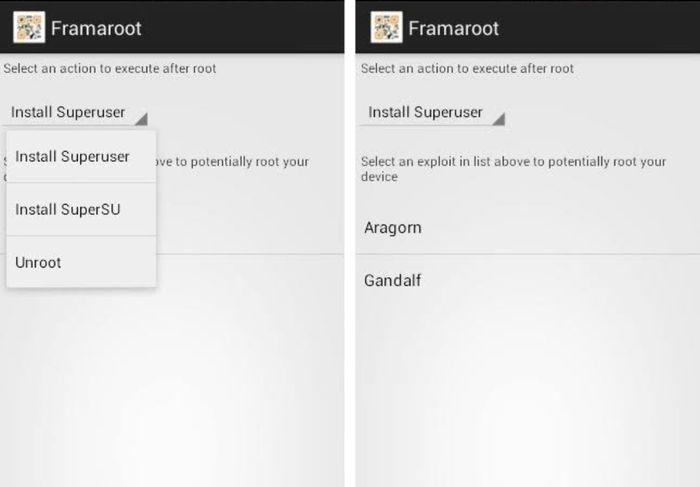 Cara Root HP Android Dengan Aplikasi FramaRoot