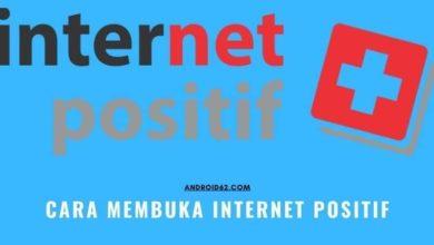 Cara Membuka Internet Positif