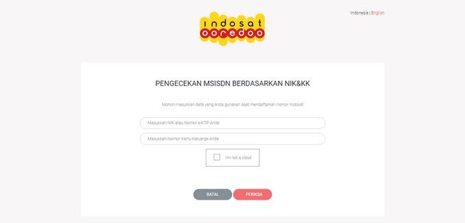 Cara Cek Nomor Indosat IM3 Dengan NIK dan KK