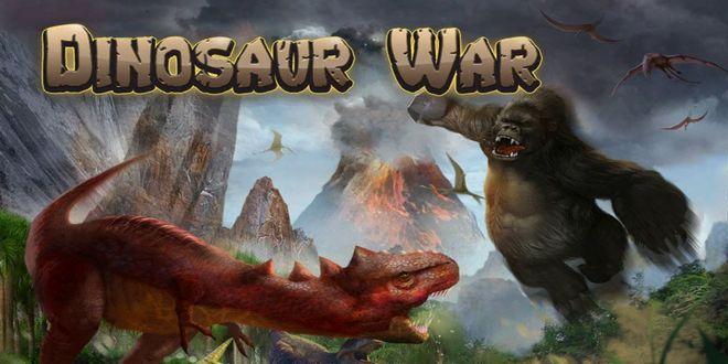 game petualangan perang Dinosaur War
