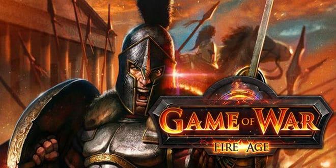 game petualangan perang Game of War Fire Age