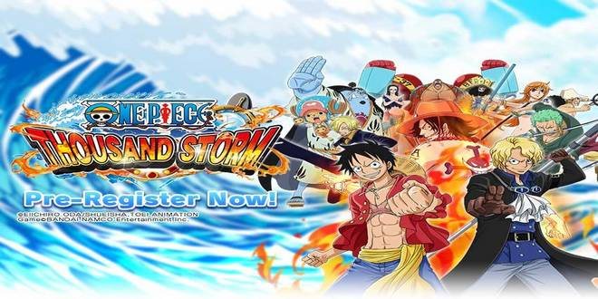 Game Anime Android Offline One Piece Thousand Storm