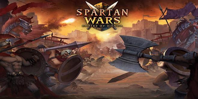 game petualangan perang Spartan Wars Blood And Fires