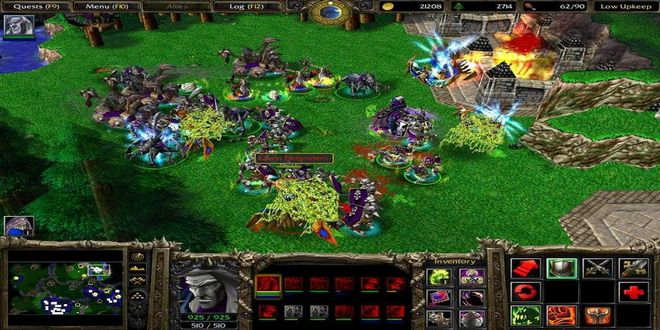 Game Strategi Perang Offline Warcraft III: Reign of Chaos