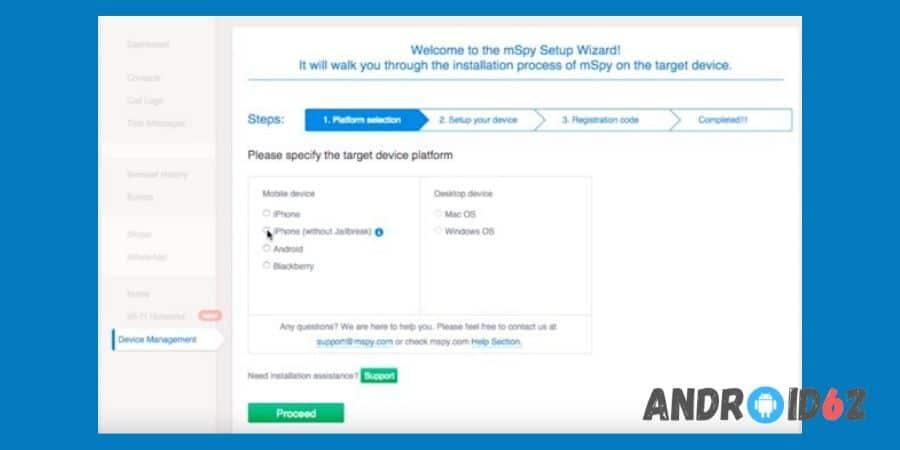 Aplikasi Sadap WhatsApp mSpy - Social Spy WhatsApp