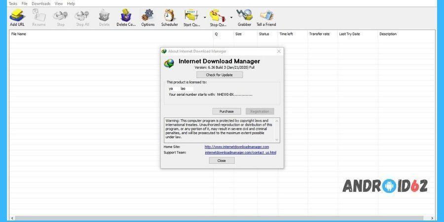 Cara Registrasi IDM Tanpa Serial Number IDM