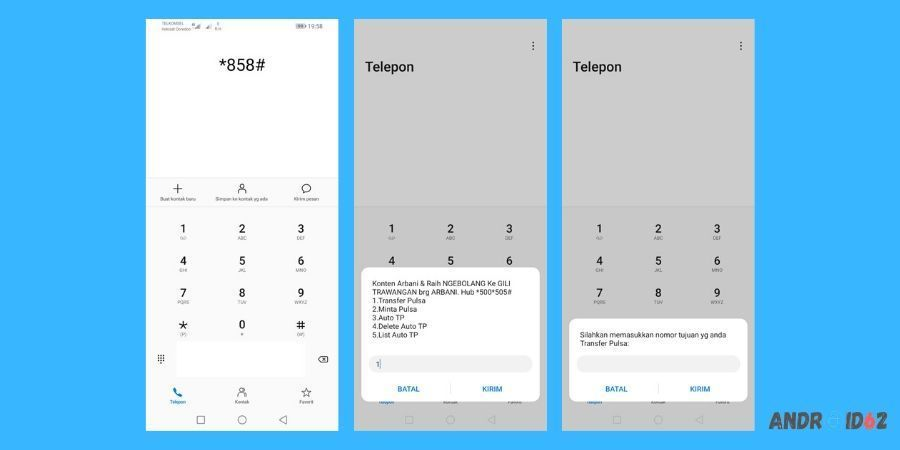 Cara Transfer Pulsa Telkomsel Tanpa Biaya Menggunakan USSD