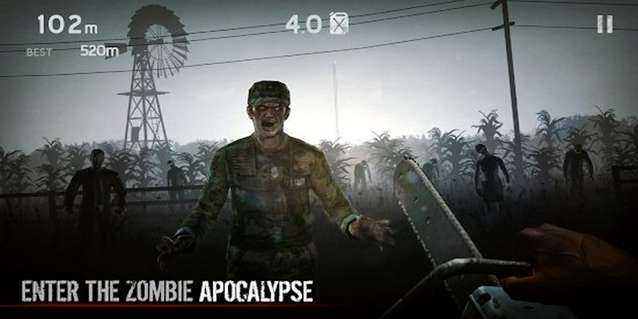 Game Offline Terbaik Android: Into The Dead