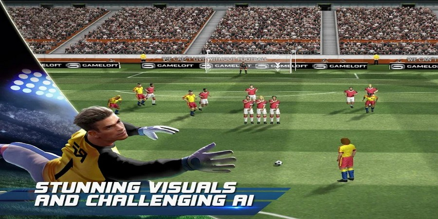 Game Bola Offline Terbaik: Real Football