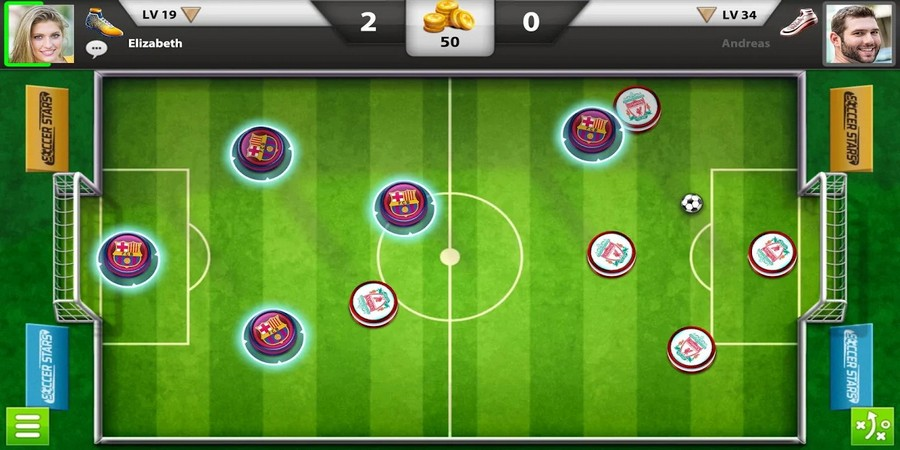 Game Bola Offline Terbaik: Soccer Stars
