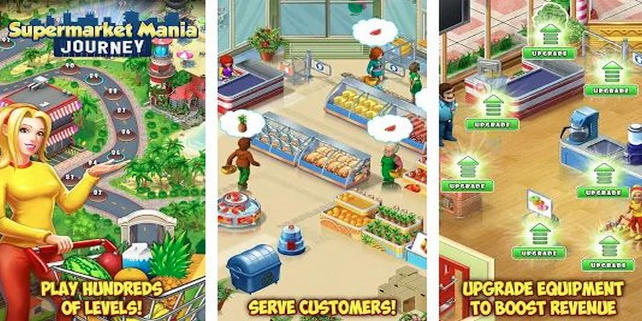 Game Supermarket - Supermarket Mania Journey