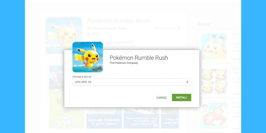 Situs Web Google Play