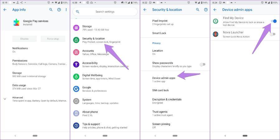 Cara Update Google Play Service dengan Menonaktifkan Google Play Service