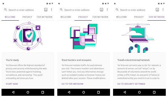 Tor Browser - Browser Tanpa Blokir Internet Positif di Android