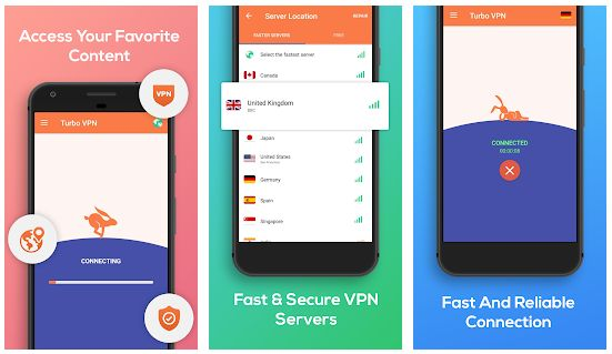 Turbo VPN - Browser Tanpa Blokir Internet Positif di Android