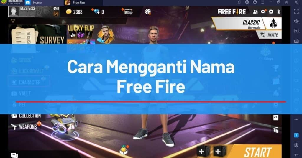 Cara Mengganti Nama Free Fire
